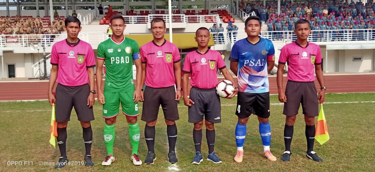Lima Tahun Menanti, PSAD Rebut Juara Sepakbola Piala Panglima TNI.