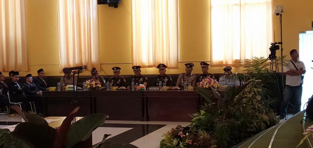 Dandim 0207/Simalungun Hadiri Rapat Paripurna Pelantikan Anggota DPRD Kota P.siantar Periode 2019-2024