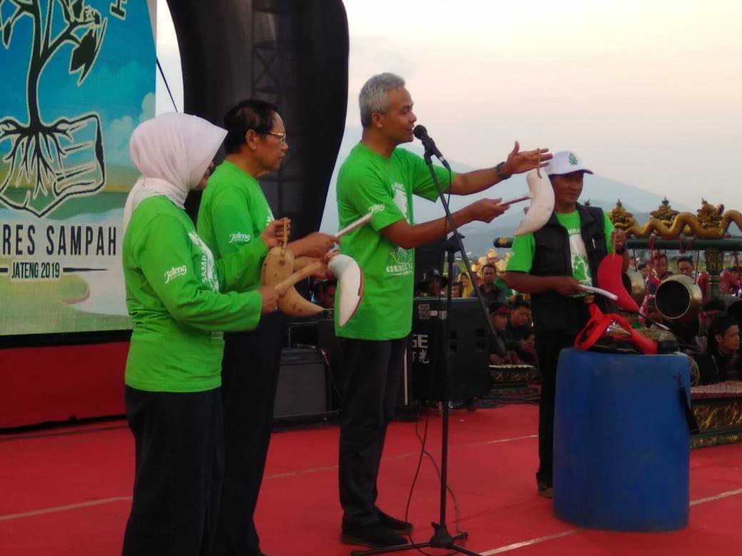 Gubernur Jateng Sangat Mendukung Pengelolaan Sampah Oleh Ikatan Pemulung Indonesia (IPI)