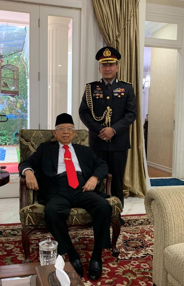 Kombes Sabilul Alif : Polisi Santri Yang Jadi Ajudan Wakil Presiden RI