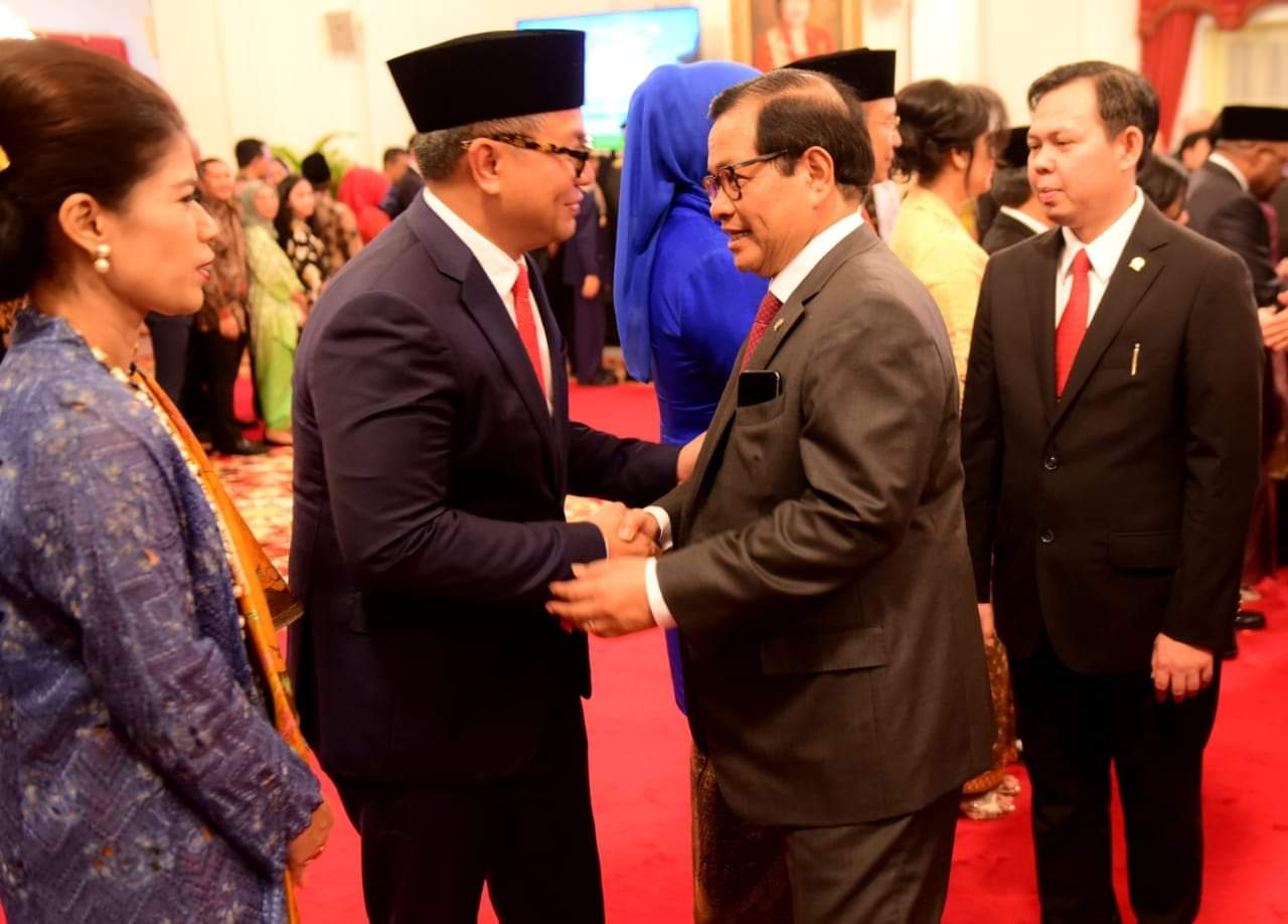 Usai Diumumkan, Presiden Jokowi Lantik 12 Wakil Menteri Kabinet Indonesia Maju 2019-2024