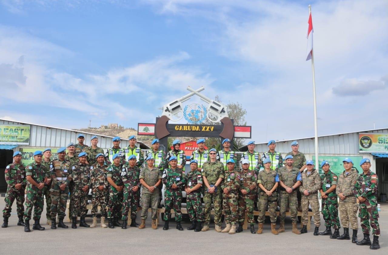 Kontingen Seceast UNIFIL Antusias ikuti Road Safety Campign MPU Konga