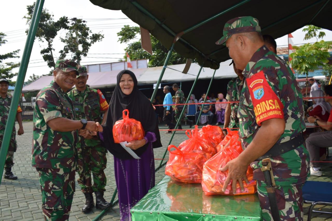 Kodim 1207/BS Gelar Bhakti TNI Sambut Hari Pahlawan
