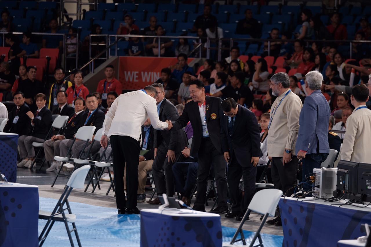 Cabor Taekwondo Sea Games 2019 Mulai di Pertandingkan