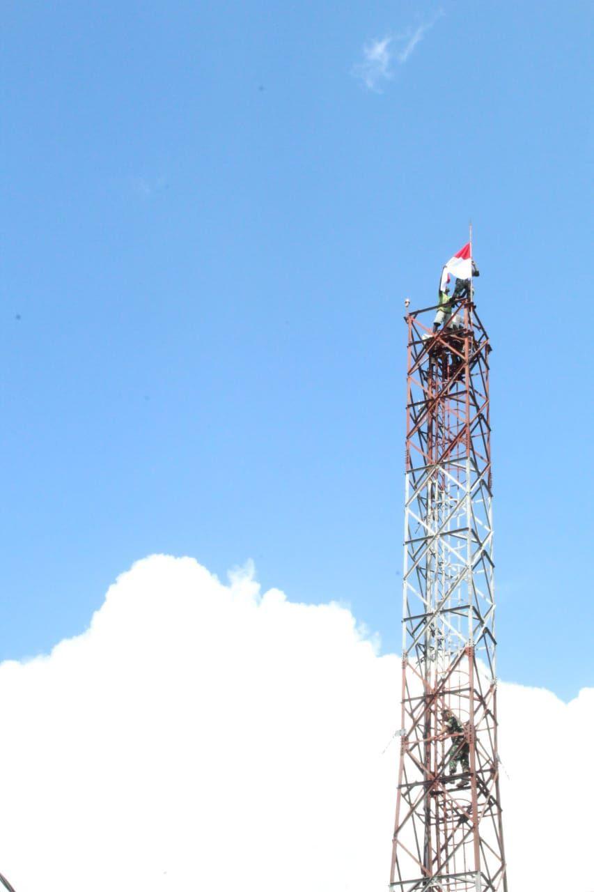 Tegaskan Papua bagian NKRI, Pemuda Asmat Kibarkan Merah Putih di Asmat*