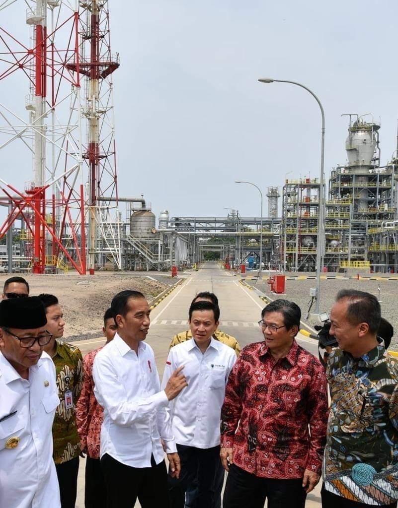 Presiden Jokowi Sambangi Perusahaan Baru di Indonesia