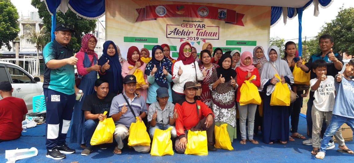 Gandeng Kemensos, UKM IKM Nusantara Gelar Baksos Hari Ibu