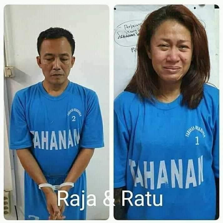 Direktorat Reserse Kriminal Umum  Polda Jateng menangkap RTS (42) dan FA (41) terkait berdirinya Keraton Agung Sejagat di wilayah Purworejo Jawa Tengah