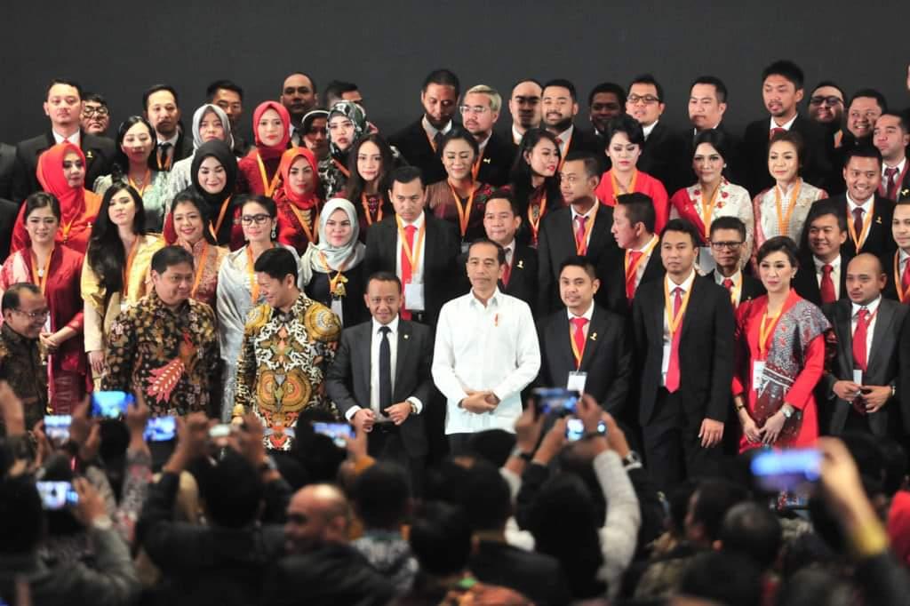 Minta Pengusaha Muda Dilibatkan, Presiden Jokowi: Jangan Sampaikan Pekerjaan di BUMN Dikerjakan Sendiri