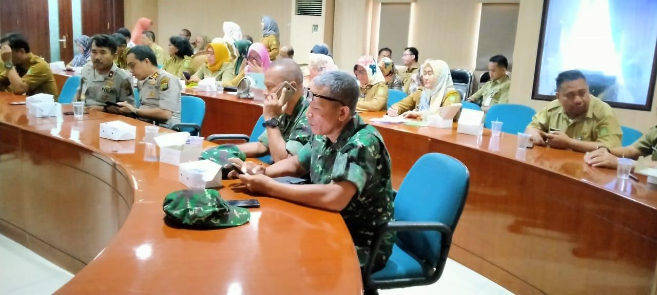Kodim 0506/Tgr Lakukan Rapat Kordinasi Persiapan HUT Kota Tangerang Ke-27