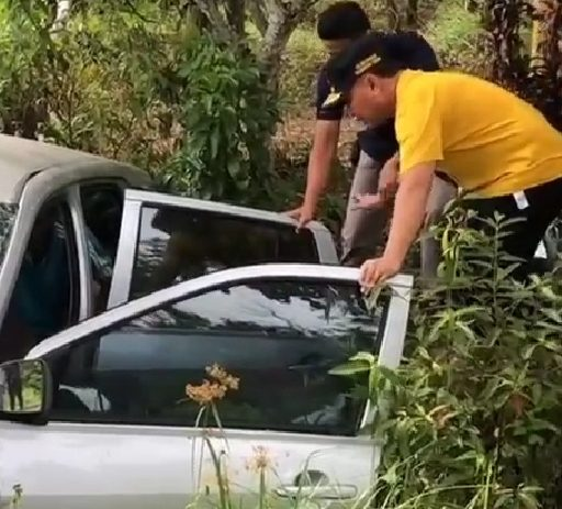 Gubernur Kalteng Bantu Warga Yang Terkena Musibah Kecelakaan Mobil Jalan Arah Kotim – Kobar