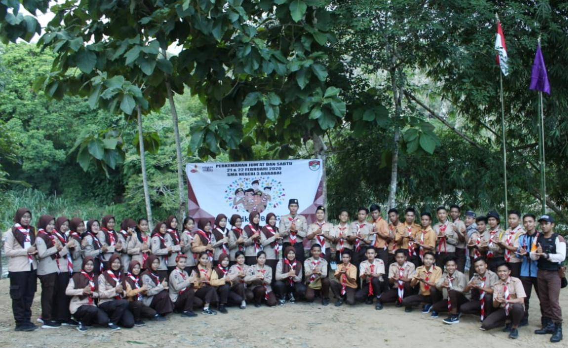 Serda Wahyu Arip Sasmito Buka Perjusa SMAN 3 HST.