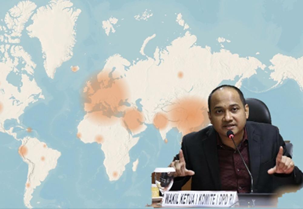 Corona Ancam Indonesia, Senator DPD RI: Orang Kaya Republik Ini Jangan Diam
