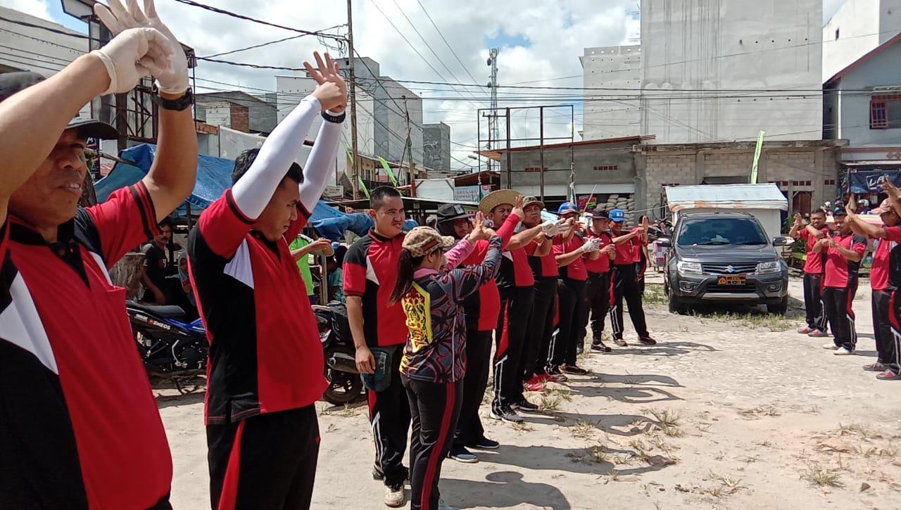 Cegah Wabah Corona, Polres Katingan Ajarkan Personel Cara Mencuci Tangan
