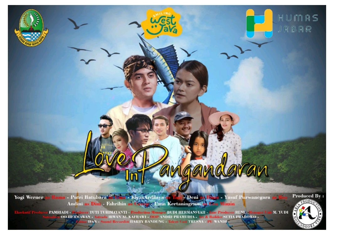 """Penjelasan Pelaku Seni di FTV """"Love In Pangandaran"""""""
