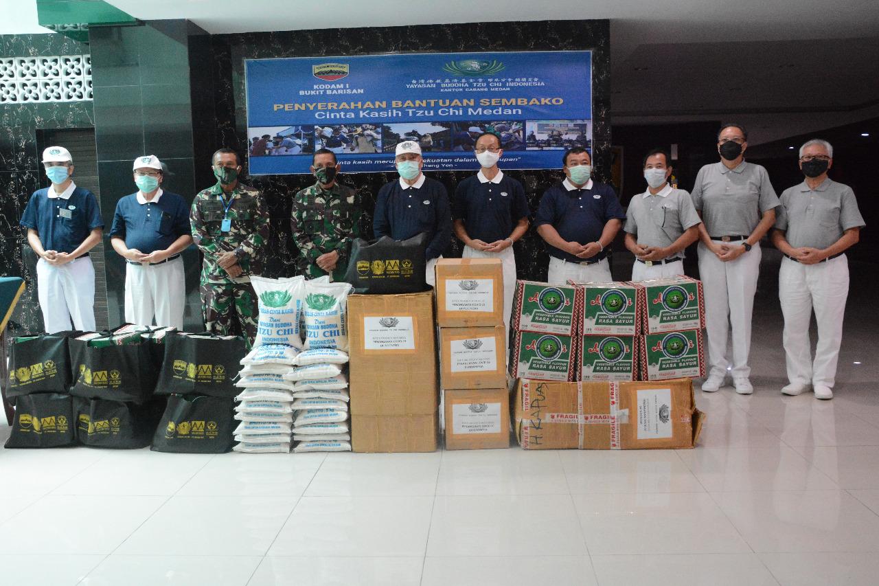 10.000 Paket Sembako Dari Yayasan Budha Tzu Chi Medan