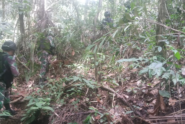 Satgas Raider 300 Melaksanakan Patroli Untuk Meningkatkan Keamanan