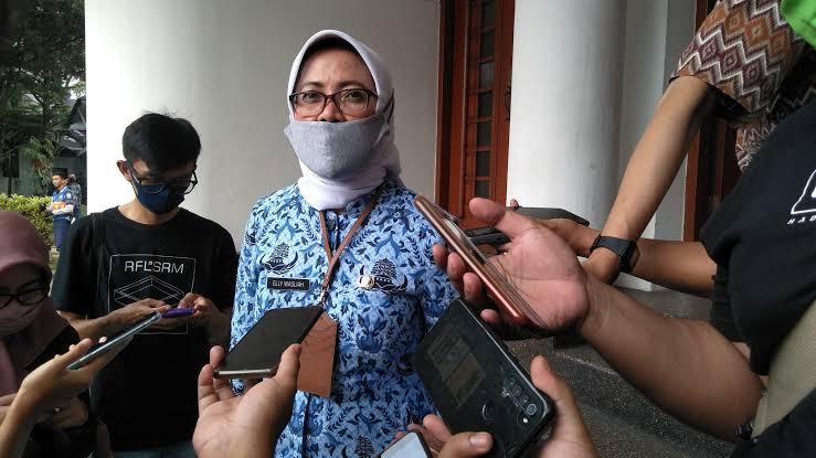 Elly Wasliah Pastikan Stok Pangan Kota Bandung Aman Saat PSBB