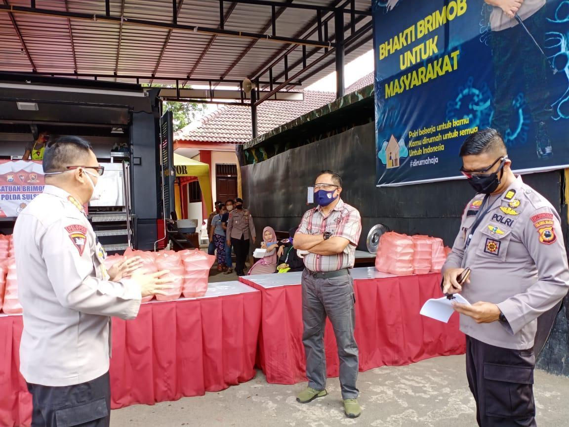 Kapolda Sulsel Siapkan Paket Buka Puasa 1.000 Dos Setiap Hari Selama Ramadhan