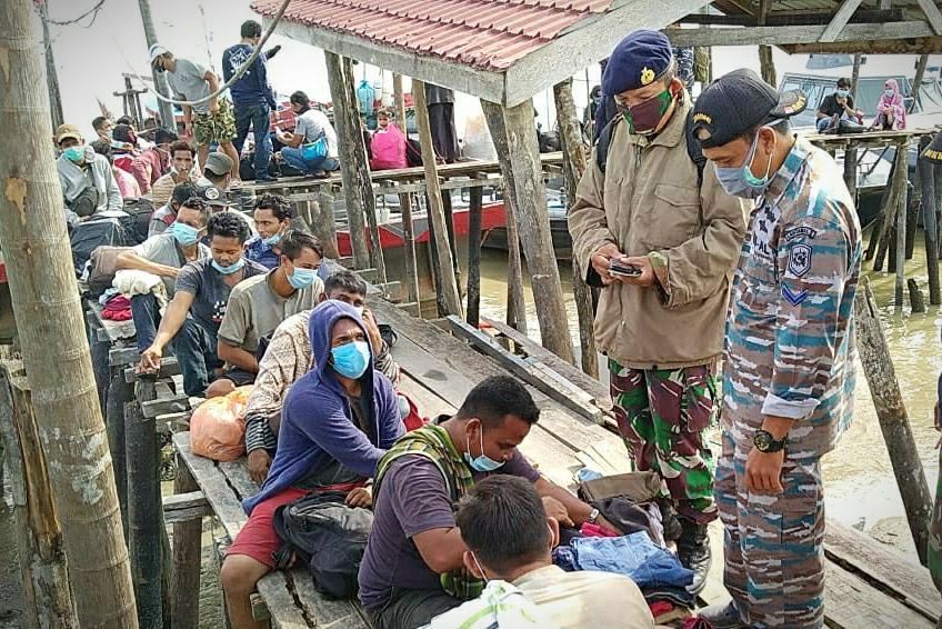 Pekerja Imigran Ilegal di Kab. Labura Kembali Diamankan TNI AL