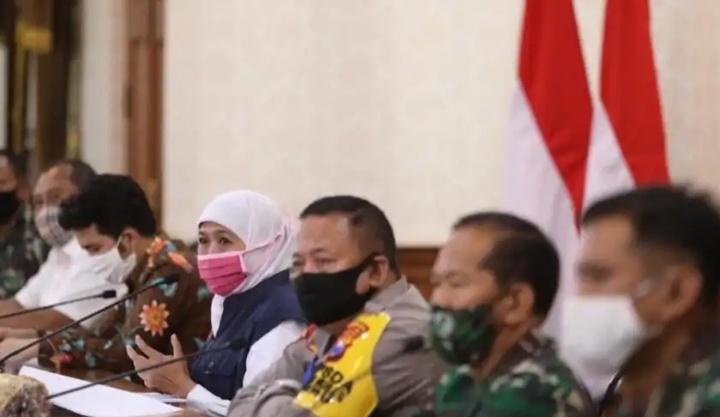 Sosialisasi Terkait PSBB Di Surabaya
