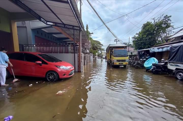 Muara Teweh Banjir Akibat Das Barito Meluap