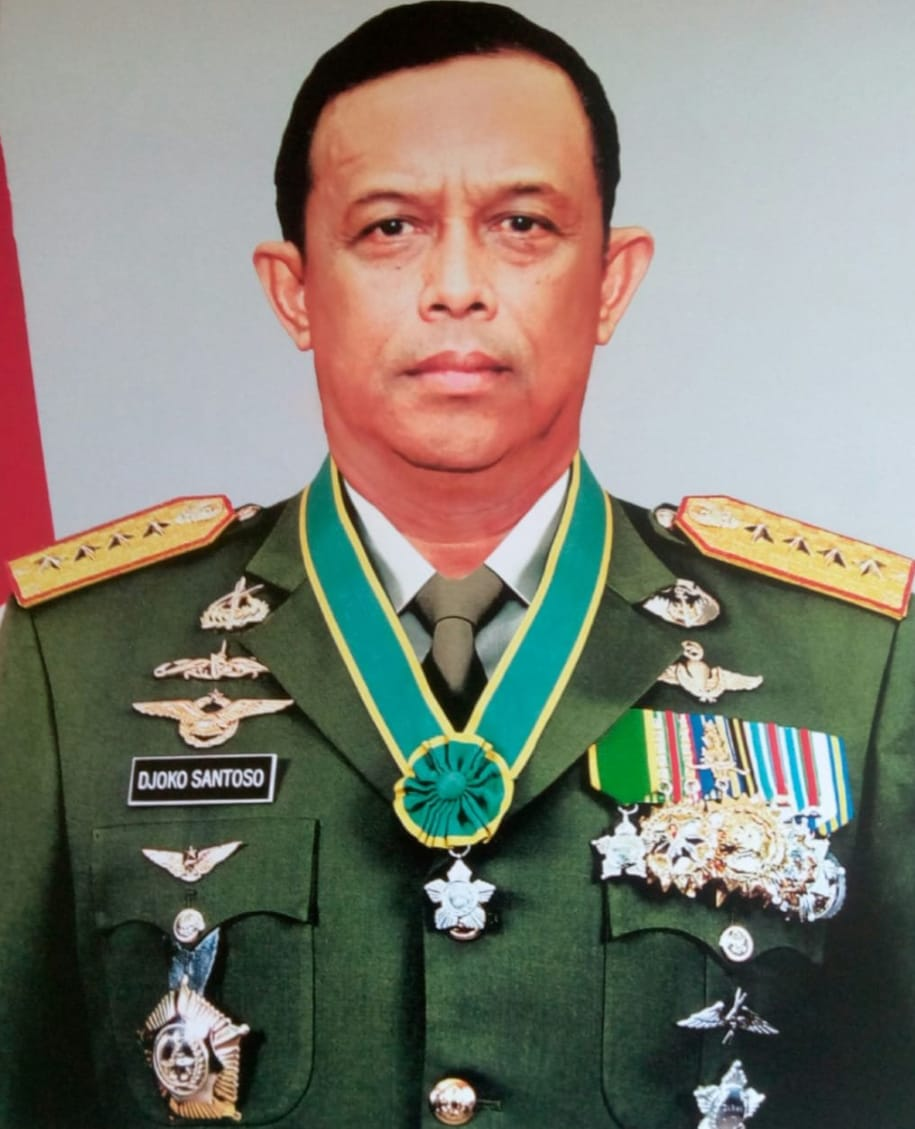 Jend. (Purn) Djoko Santoso Mantan Panglima TNI Juga KASAD Tutup Usia.