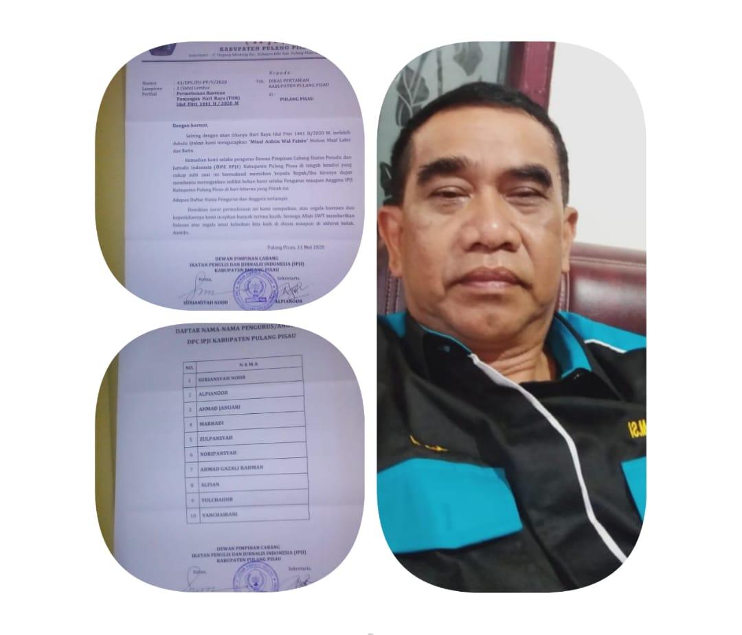 Awas!! Proposal IPJI Abal Abal Beredar Di wilayah Kabupaten Pulang Pisau