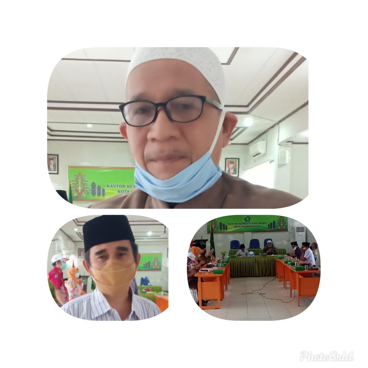 Rapat Terbatas Keputusan Bersama, Sholat Jum'at berjamaah Di Masjid