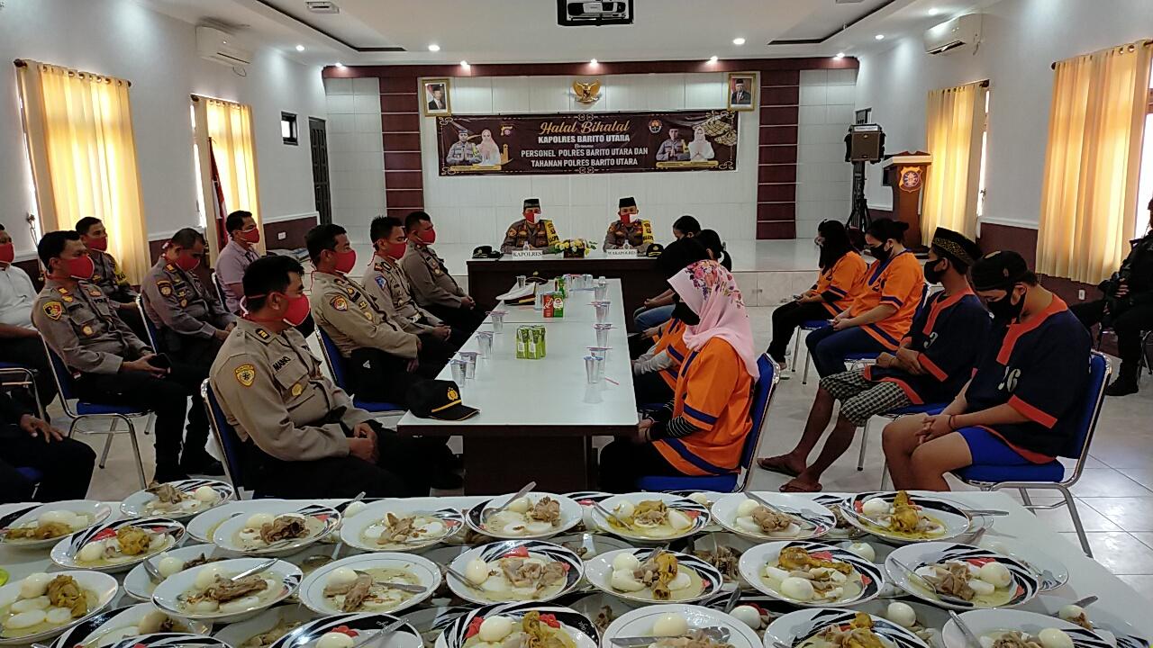 Acara Halal Bil Halal Bersama Tahanan, Ini kata Kapolres Barut