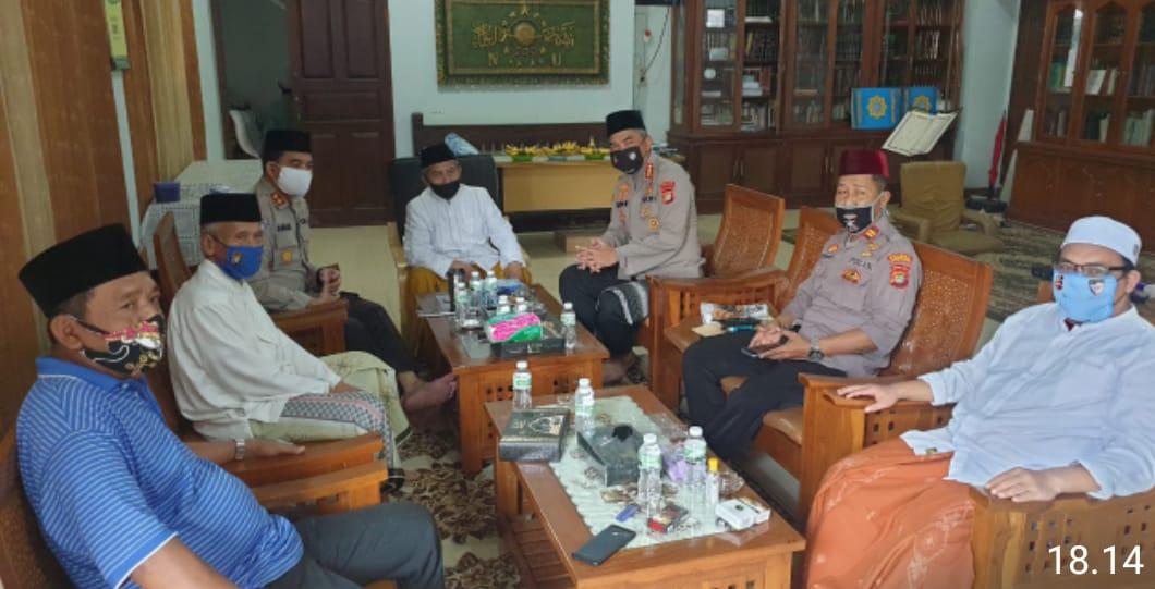 Dir Binmas PMJ KBP Badya Wijaya,SH, MH Gelar Sikaturahmi Dengan Pimpinan Pondok Pesantren Al-Itqon
