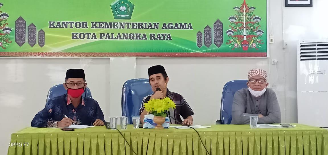 Kegiatan Sholat Jum'at Menunggu Persetujuan Wali Kota Palangka Raya