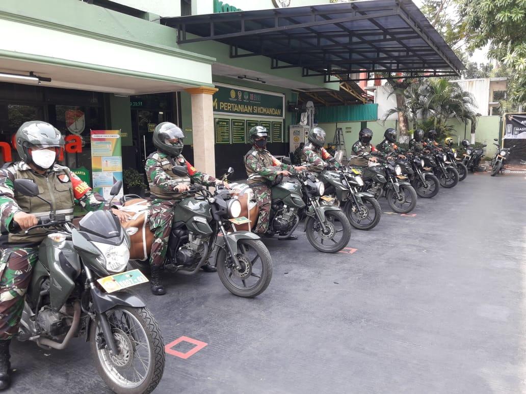 """""""Kodim 0503/JB Laksanakan Jakbar Berbagi Ke Musholla dan Masjid Se- Jakarta Barat""""."""