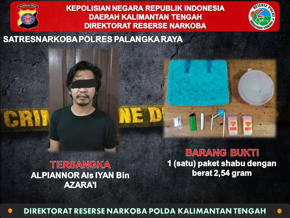 Dirresnarkoba Polda Kalteng, Ungkap Kejahatan Narkoba Tiga Wilayah