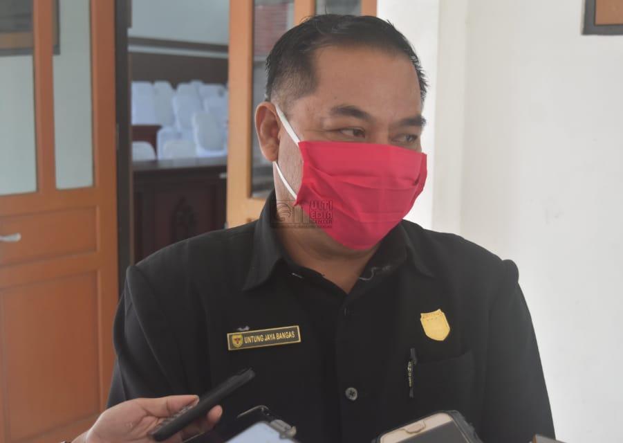 Untung Jaya Bangas Anggota DPRD Gunung Mas Angkat Bicara