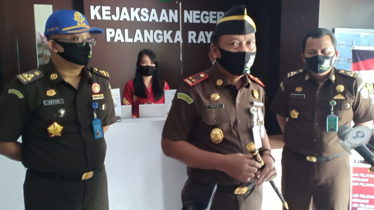 Kejati Kalteng Launching PTSP Online 'SiPutri Kepang'