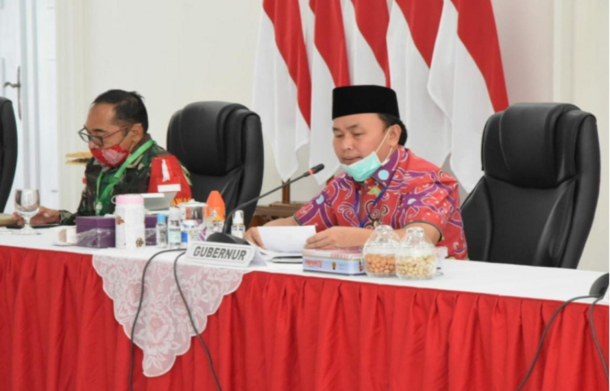 Gubernur Kalteng Komitmen Mewujudkan Kalteng Bebas Asap Tahun 2020