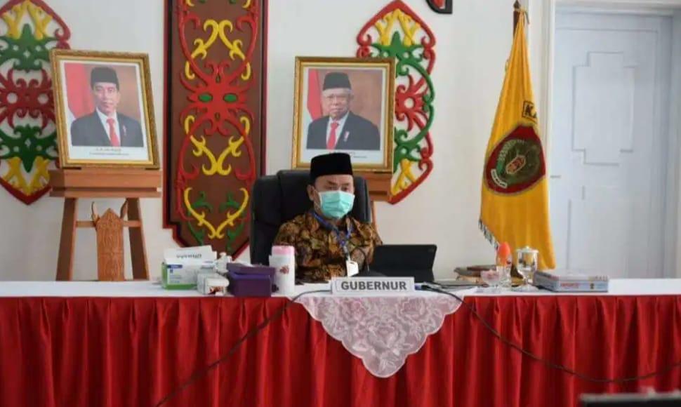 Gubernur Kalteng Bahas Persiapan Pilkada Serentak Tahun 2020 Bersama Mendagri