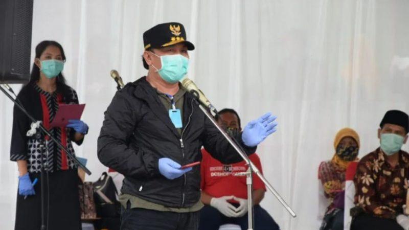 Rapid Test Massal Di Pasar Indra Sari Pangkalan Bun, Dihadiri Gubernur Kalteng