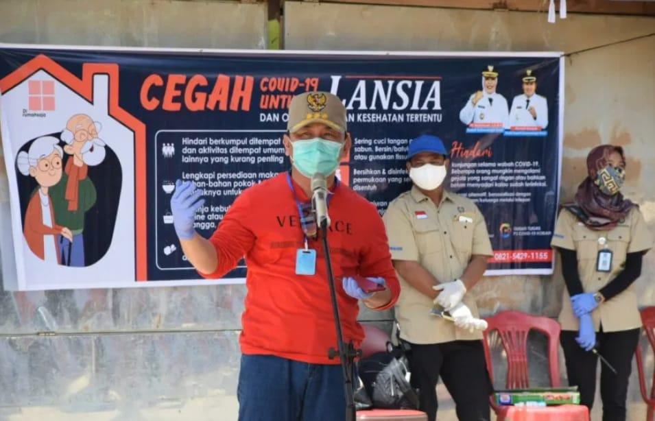 Kunjungi Pasar Karang Mulya, Gubernur Ajak Masyarakat Disiplin