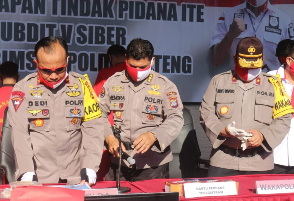Dalam Semenit Mampu Terigistrasi 144 PCS Kartu Perdana, Ini Kata Kapolda Kalteng.