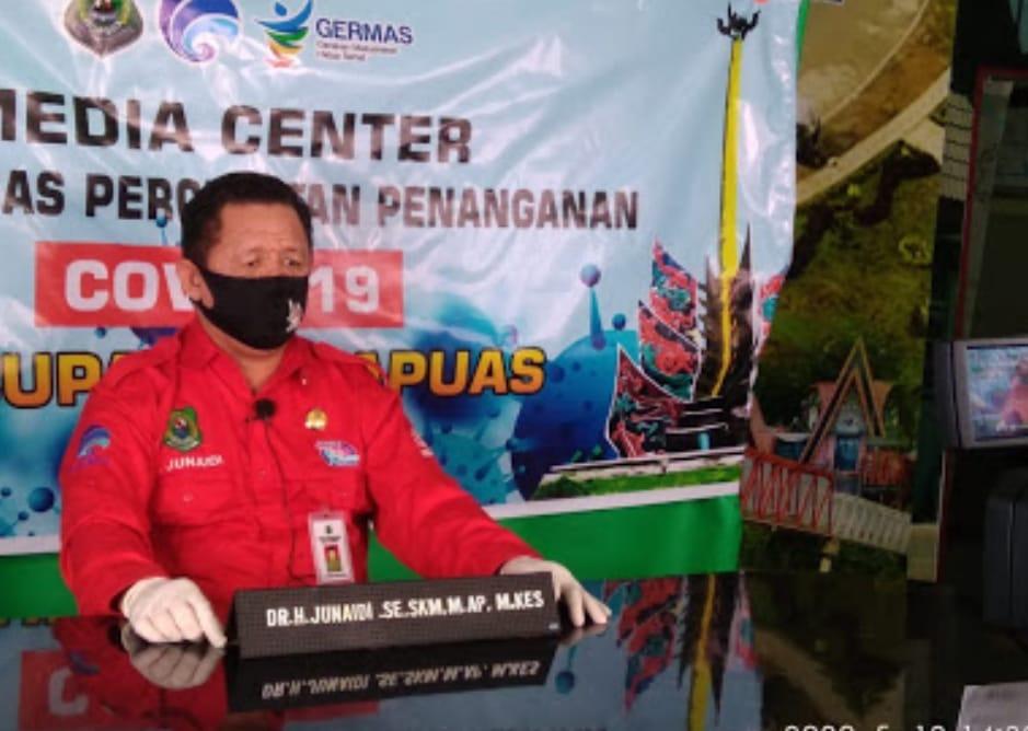 Apresiasi Kadis Kominfo sandi Kapuas Pada Media Online