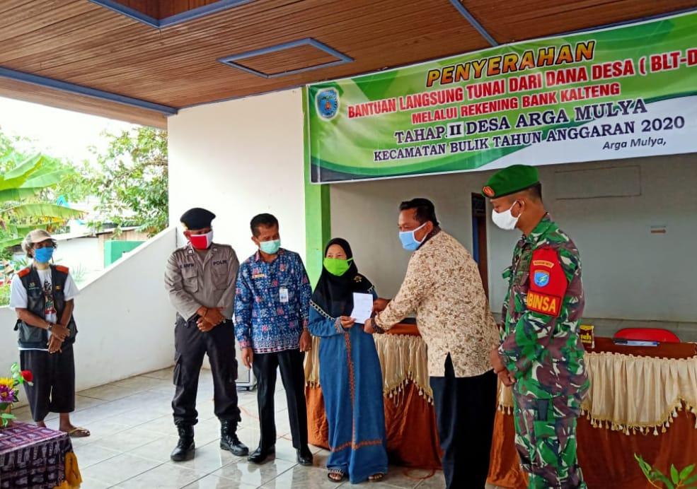 Desa Arga Mulya Terima Dana Desa BLT