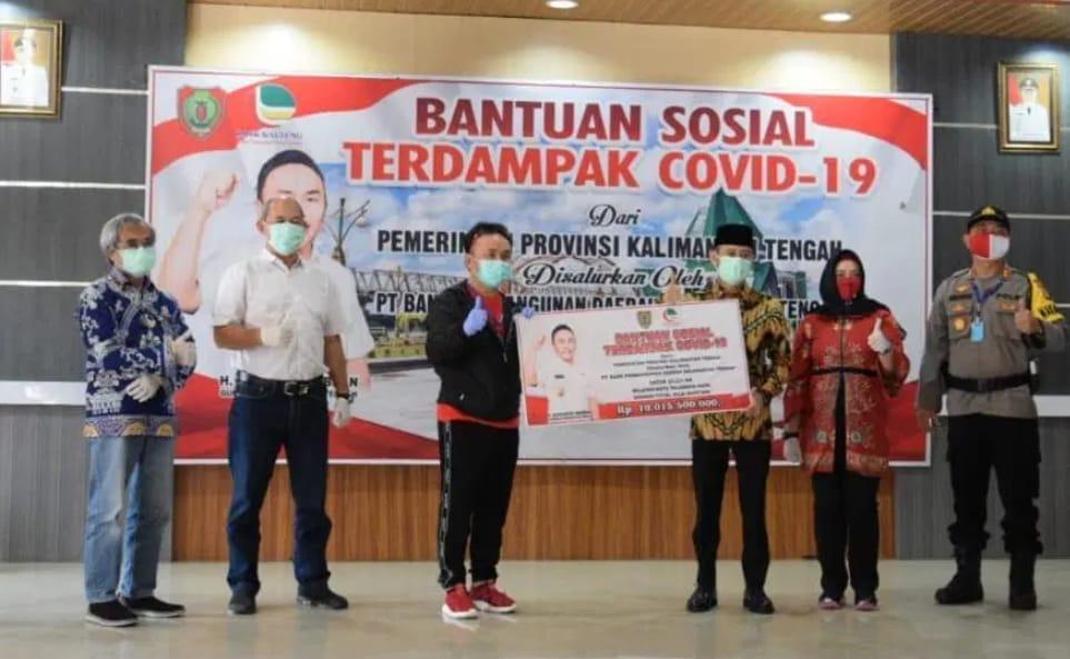 538 Tenaga Kerja Pariwisata Dan 1.133 Petani Terima BLT Dari Pemprov Kalteng
