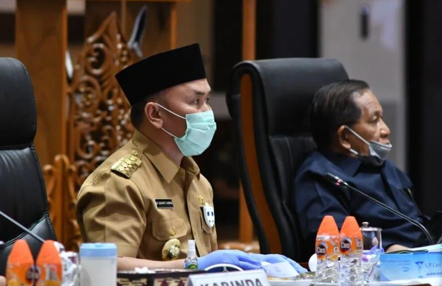 Gubernur Sugianto Sabran Sosialisasi Pengembangan Food Estate