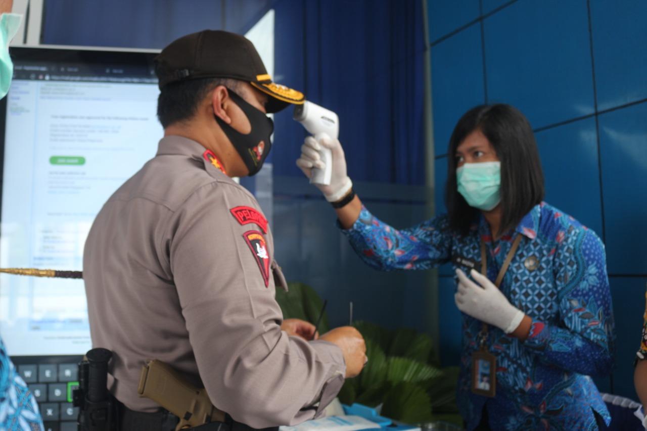 Polda Kalteng Hadiri Vicon Hani Di BNNP Kalteng, Tingkatkan Sinergitas