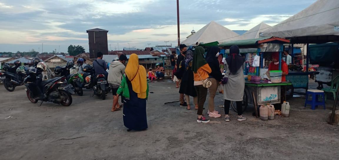 Wisata Lokal Tradisional Pelabuhan Rambang Palangka Raya.