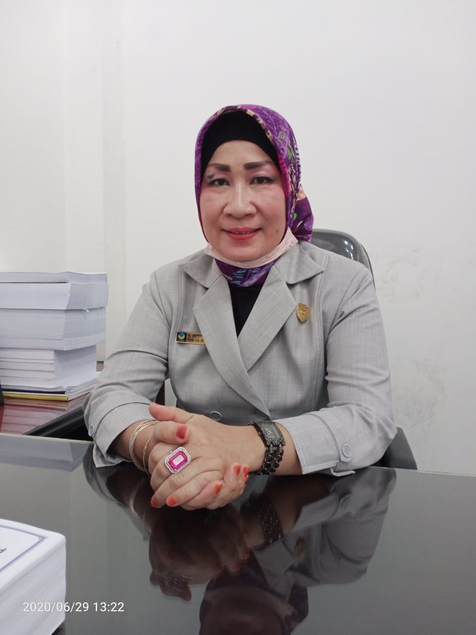 Anggota Komisi I DPRD Barut Himbau Warga Patuhi Protokol Covid19.