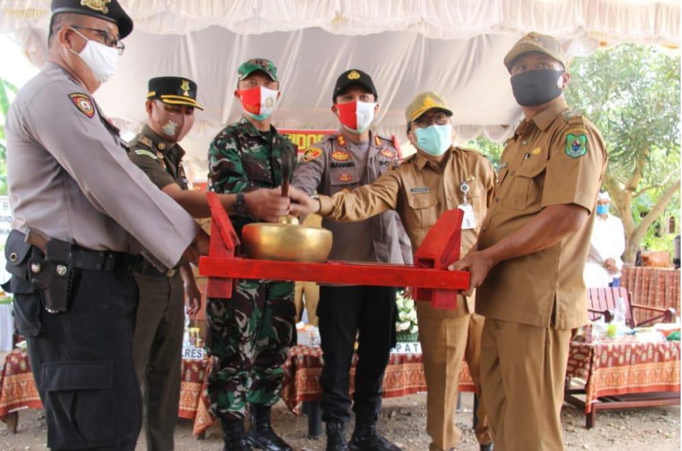 Launching Desa Isen Mulang Di Sidorejo, Dihadiri Kapolres Kapuas