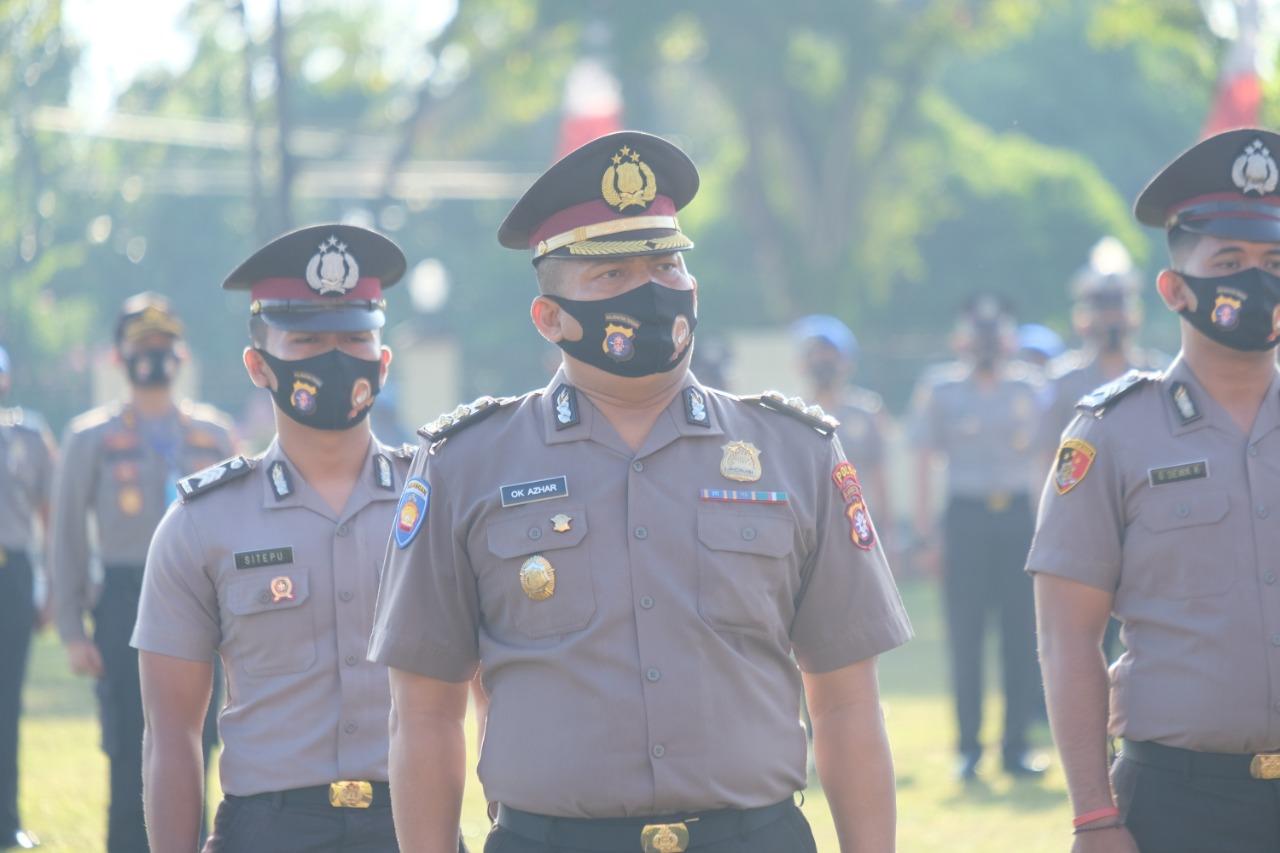 183 Personel Polda Kalteng Naik Pangkat, Pada 1 Juli 2020.